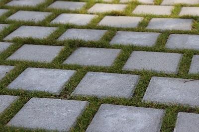 Neatly layed pavers by landscaping mandurah